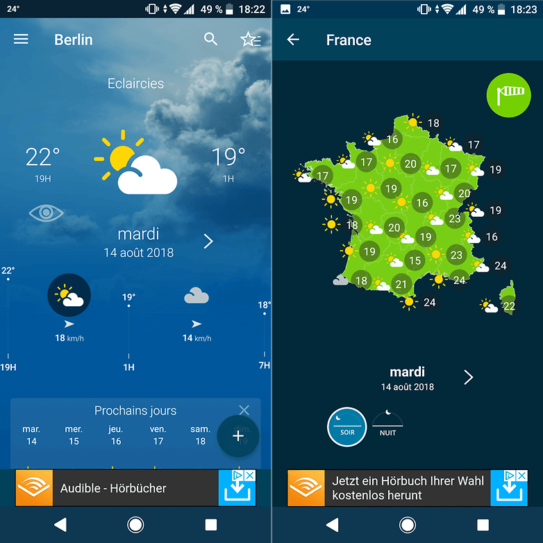 androidpit meteo france