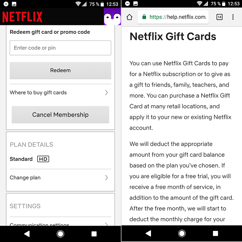 androidpit netflix gift card
