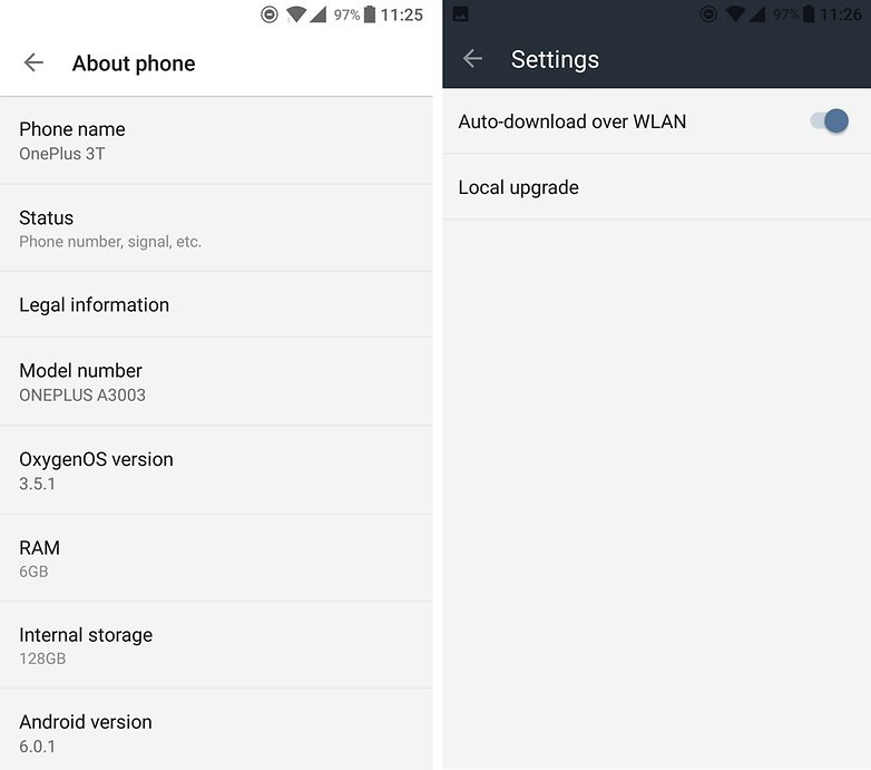 androidpit oneplus 3t review software