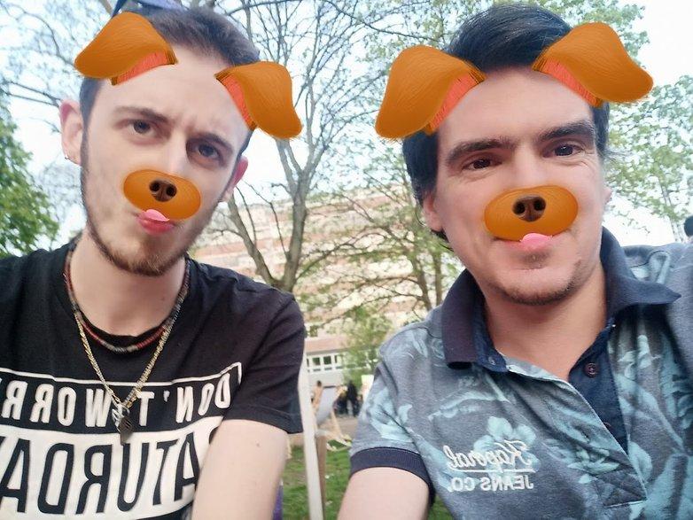 androidpit oppo f7 selfie ar