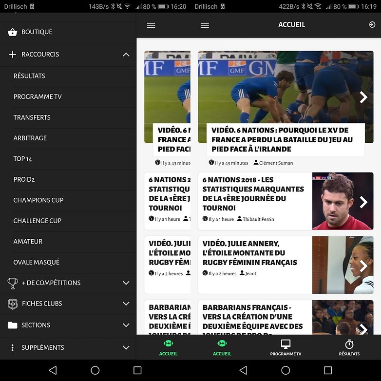 androidpit rugbynistere