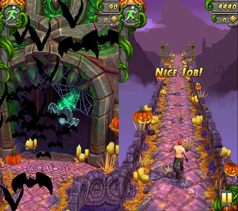 androidpit temple run 2 halloween