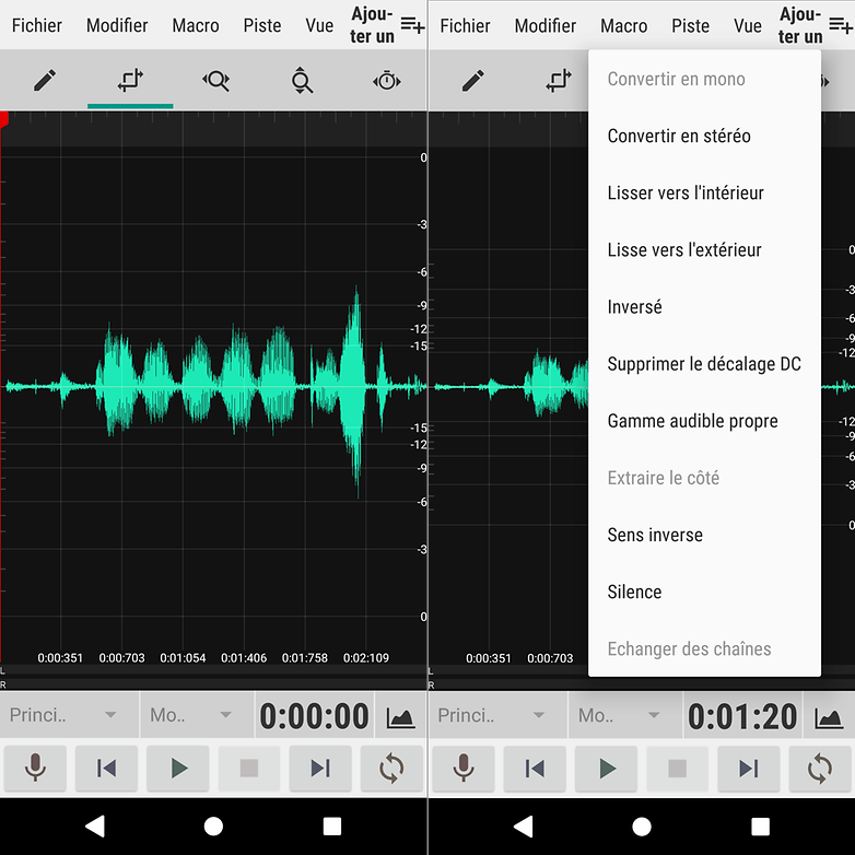 androidpit waveeditor