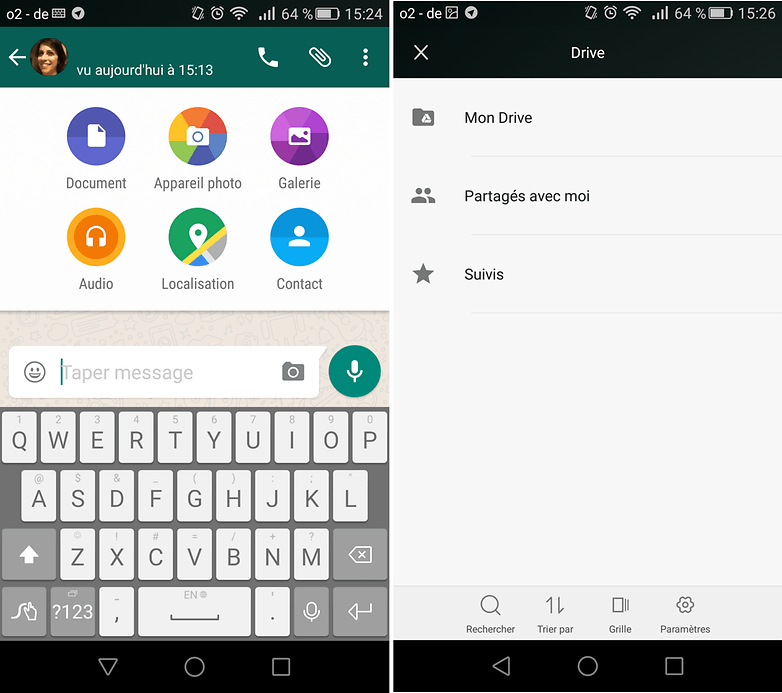 androidpit whatsapp send documents update