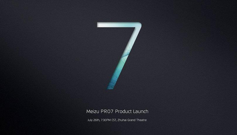 Le Meizu Pro 7 est enfin officiel