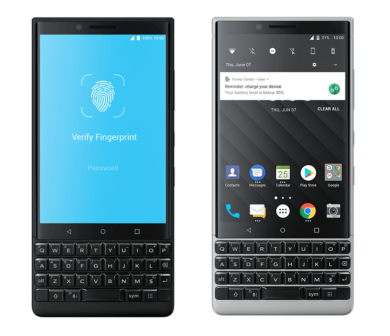blackberry keyone 2 system