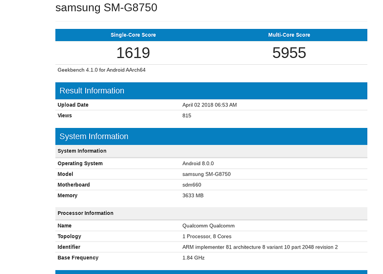 geekbench s9 mini2