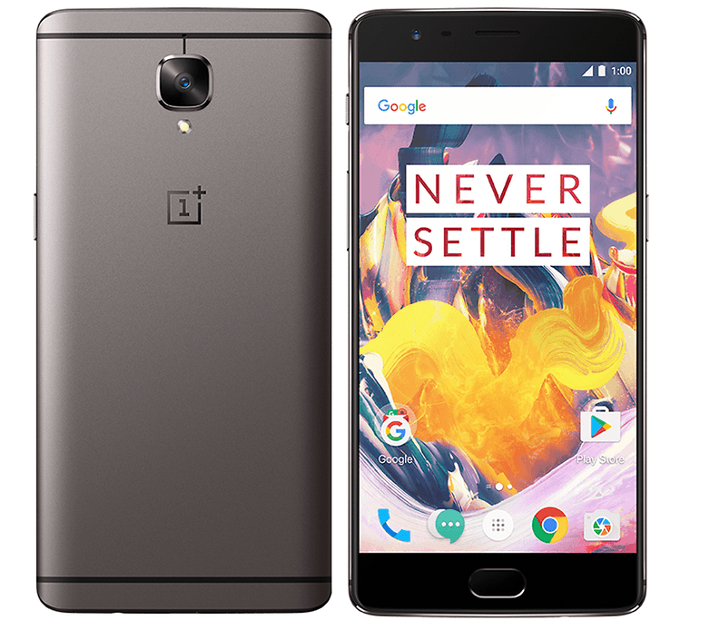 oneplus3t silver