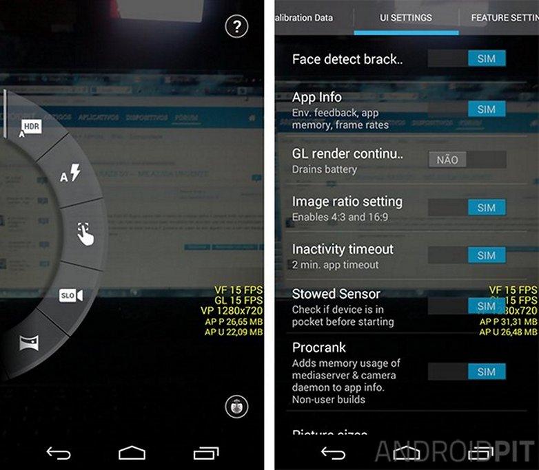 Camera moto g configuracoes avancadas android w628