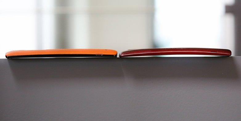 LG G4 VS LG G2 FLEX 1 4