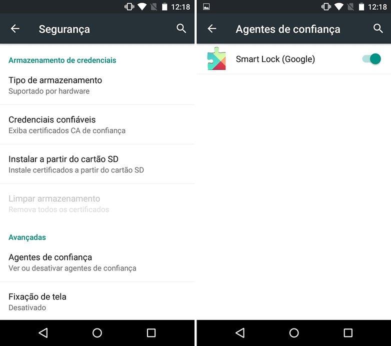 Moto g smartlock