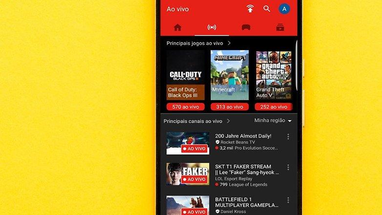YouTube Gaming 1