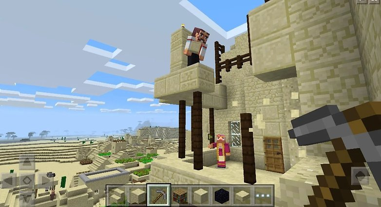 androidpit minecraft pocket edition