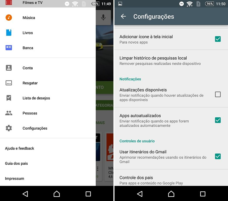androidpit play store notificacao
