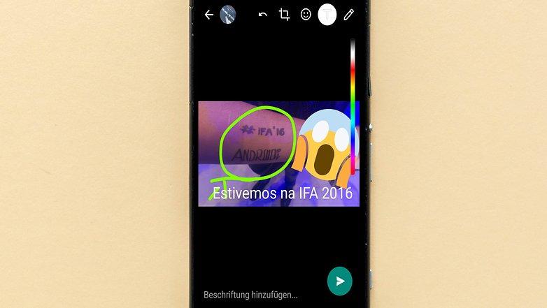 whatsapp image editing foto 2