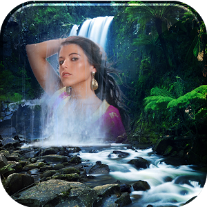 free app photo editor : Waterfall Photo Frames Collage