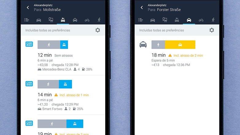 AndroidPIT BRA here wego screenshot 1