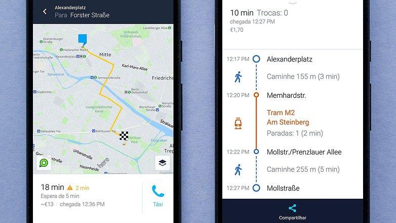 AndroidPIT BRA here wego screenshot 2