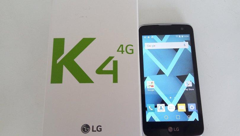 Review do LG K4: um smartphone de 2014 com 4G