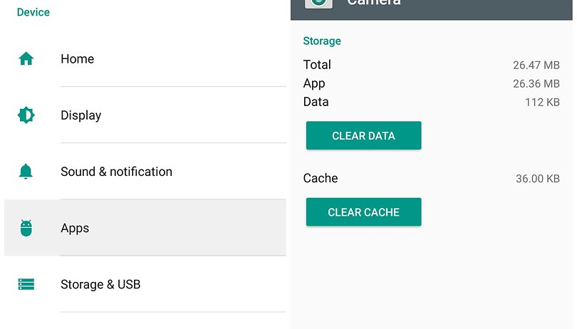Clear app cache or clear app data: how and when to use each