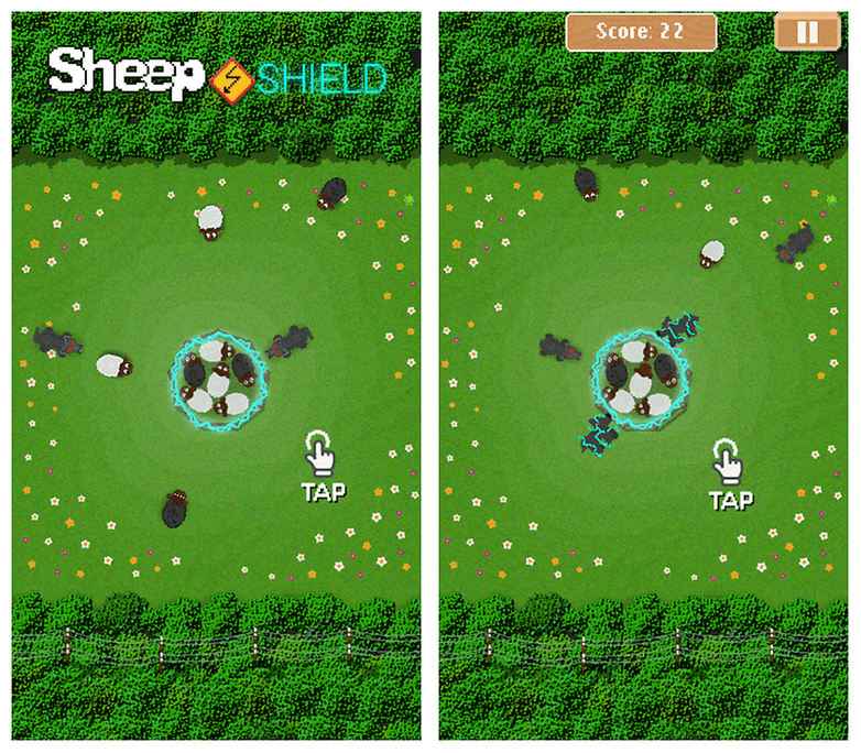 Sheep Shield Screenshot