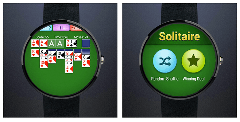 Solitaire Wear Screenshot