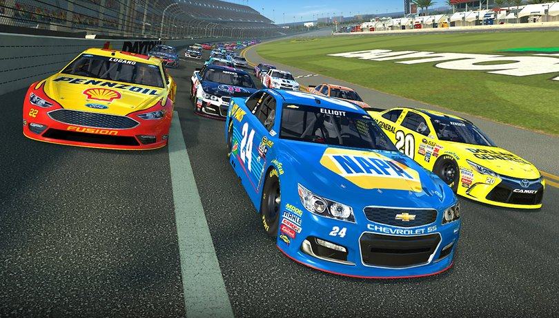NASCAR Races onto NVIDIA SHIELD in Real Racing 3