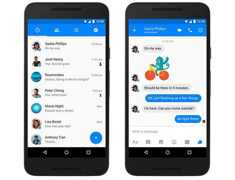 Facebook Messenger: latest Android update brings group ...