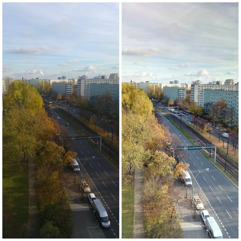 lg g4 vs umi plus outdoor photo