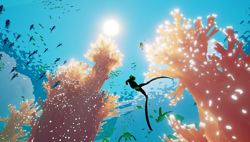 Delve into the ocean's deepest mysteries in ABZÛ now on NVIDIA SHIELD