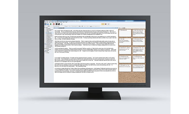 Writing App Reviews… Scrivener