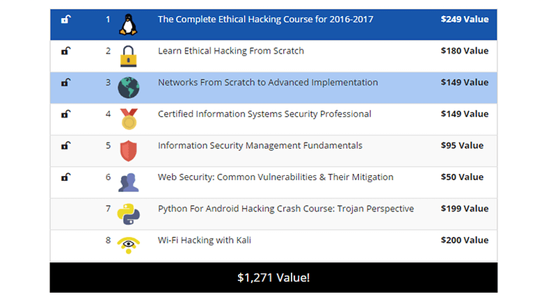 white hat hacker bundle 3