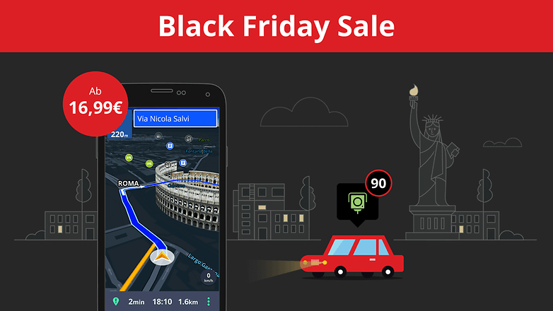 black friday lebenslange lizenz von sygic gps navigation so g nstig wie nie zuvor androidpit. Black Bedroom Furniture Sets. Home Design Ideas