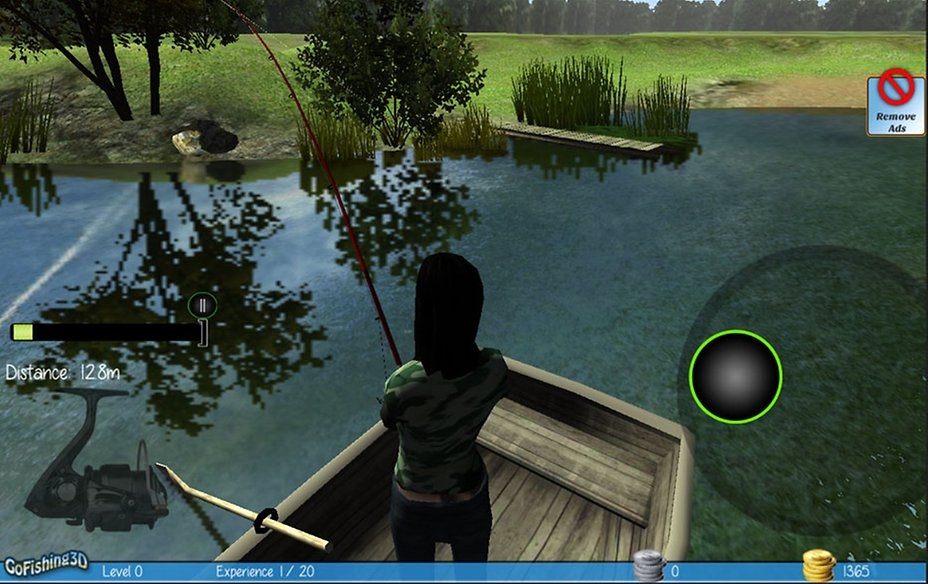 Free Game Fishing Game On Android Gofishing3d The Real Fishing