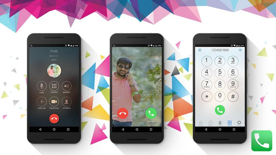 how to set caller image in android