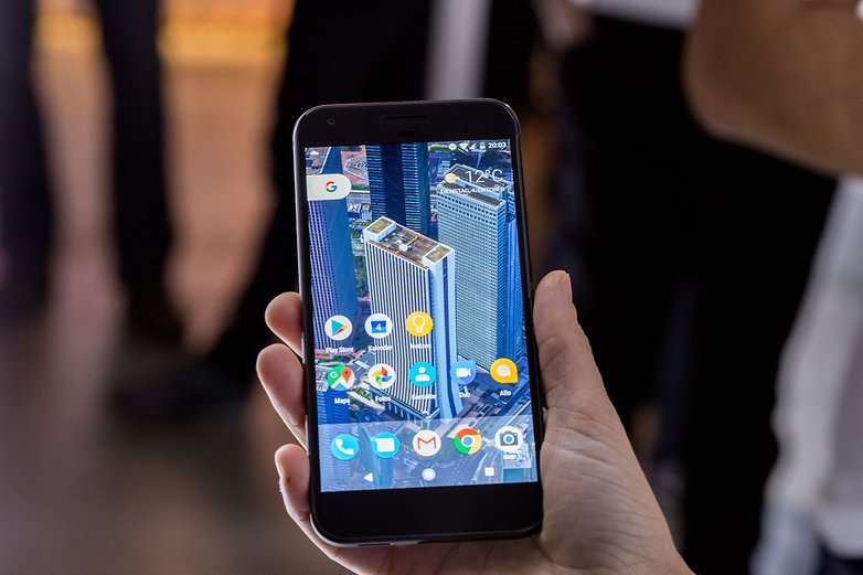 AndroidPIT Google Pixel Event2016 0055