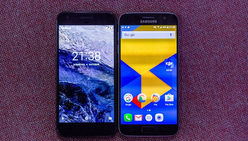 Google Pixel vs Samsung Galaxy S7: did Google steal back the Android crown?