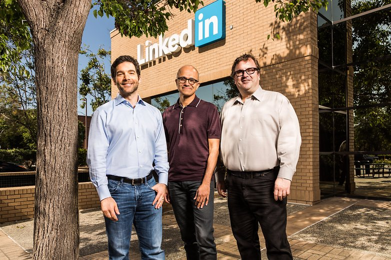 AndroidPit Linkedin Microsoft CEO 2016 06 12