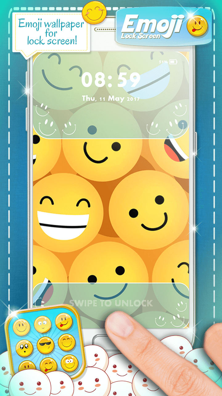 Emoji Lock Screen Is A Brand New Locker App 2017 Which Will Help You Secure Your Phone And Tablet Get This Pin Password Beautify