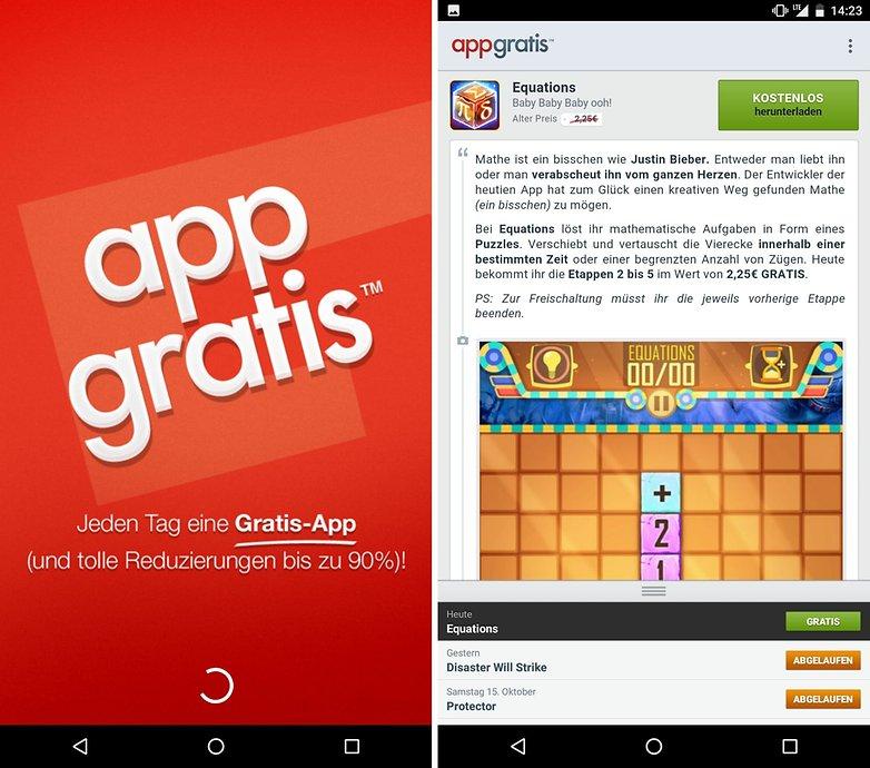 ANDROIDPIT app deals app gratis