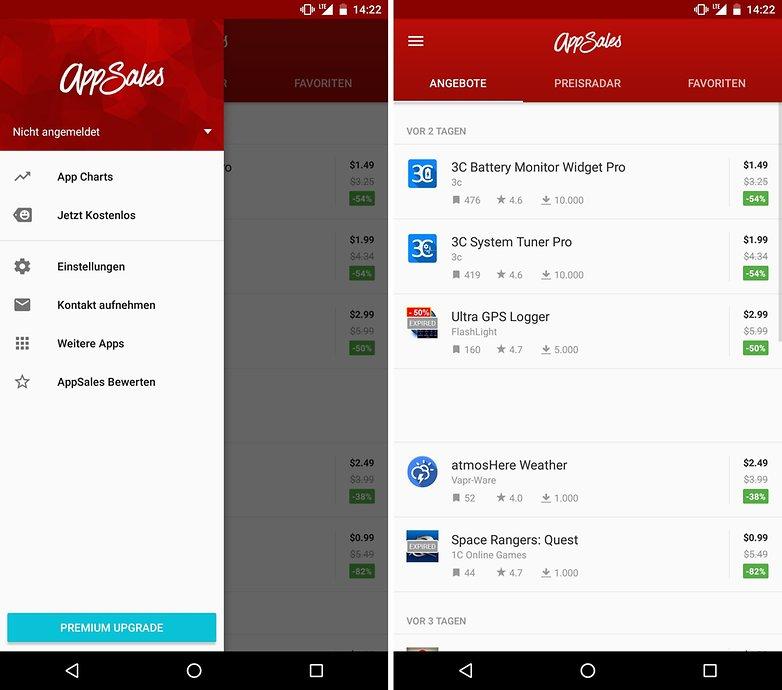 ANDROIDPIT app deals appsales