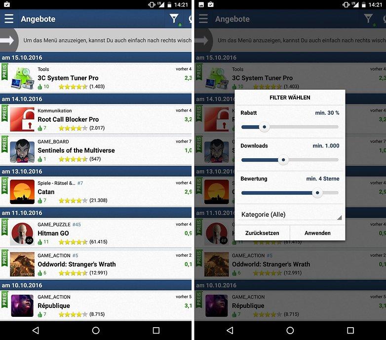 ANDROIDPIT app deals appzapp