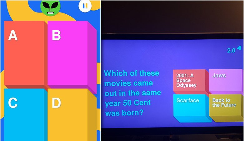 ANDROIDPIT chromecast game big web quiz