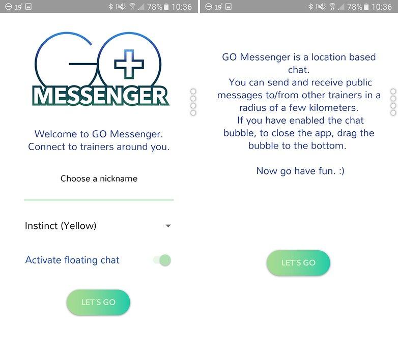 ANDROIDPIT go messenger 1