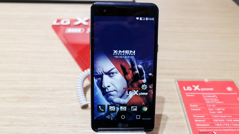 ANDROIDPIT lg x power mach ifa 1