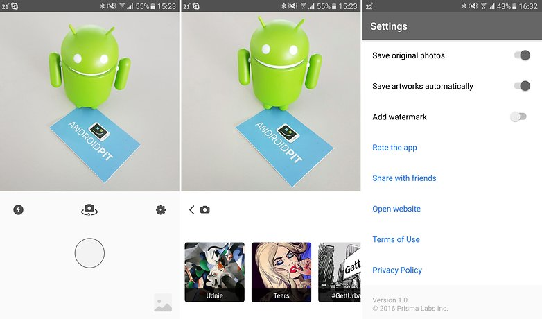 ANDROIDPIT prisma for android 1