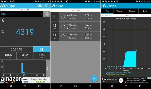 Gps Entfernungsmesser App : Die besten schrittzähler apps für android androidpit