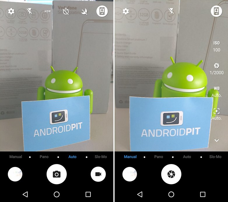 ANDROIDPIT smart platinum 7 camera