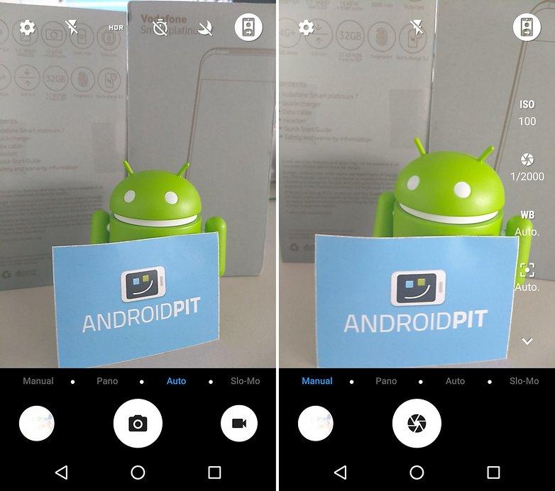 ANDROIDPIT smart platinum 7 camera