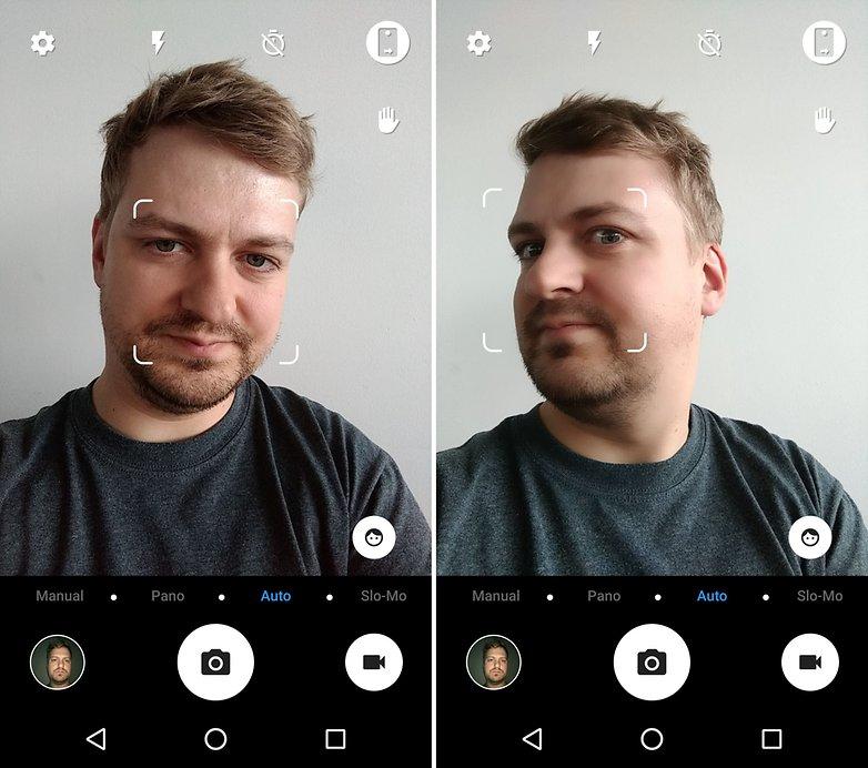 ANDROIDPIT smart platinum 7 selfie